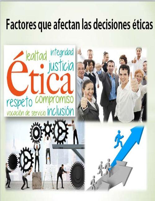 El comportamiento ético en las empresas