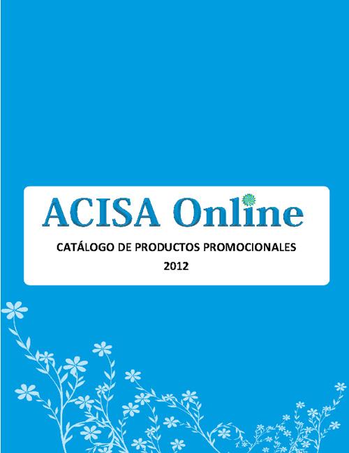 Catálogo de Artículos Promocionales 2012