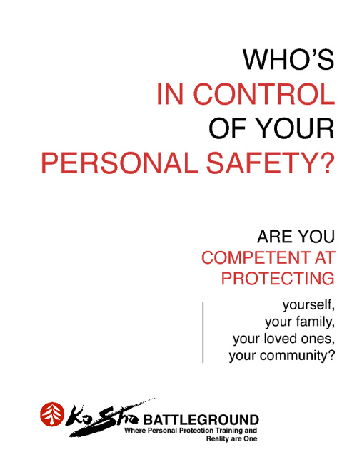 Who's in Control of Your Personal Safety?