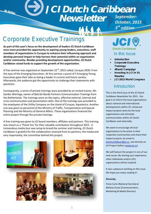 JCI DC Newsletter nr 3
