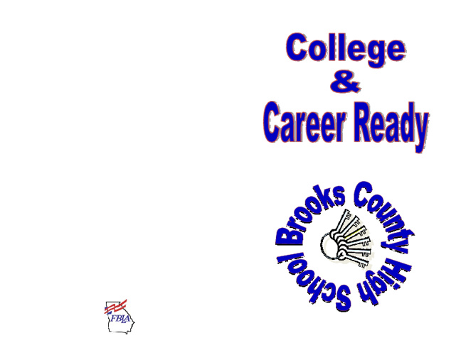 College & Career Ready at Brooks County High School