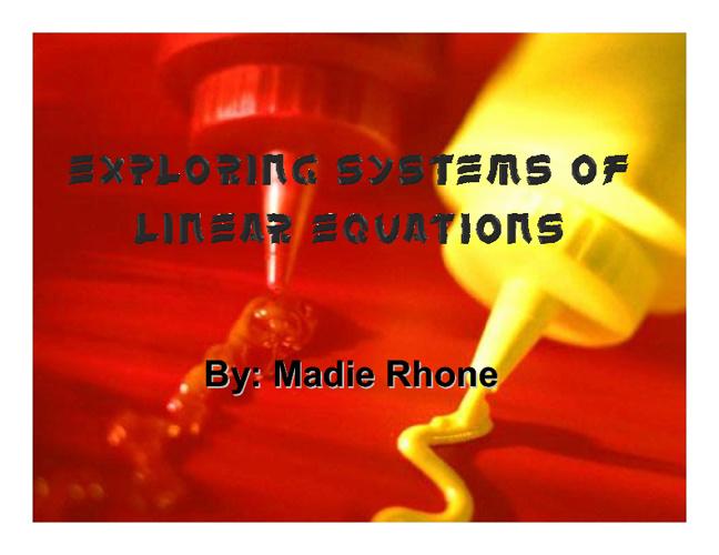 Madie Rhone