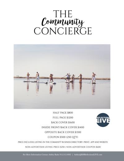 The Community Concierge Rates  2018