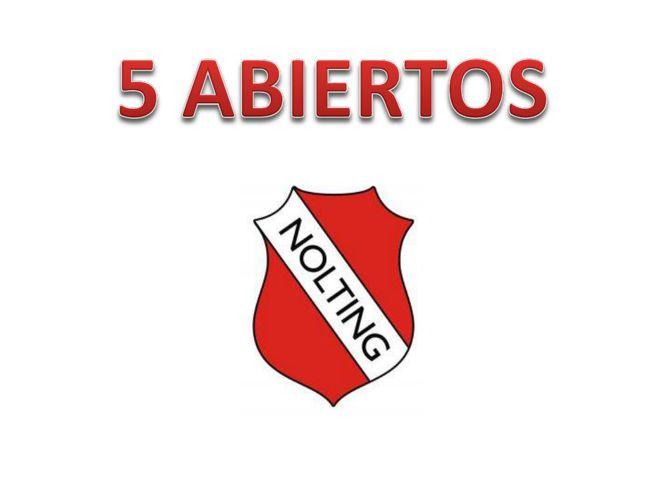 5ABIERTOS NOLTING Edición N°1