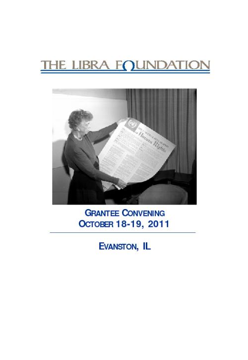 Libra Convening Agenda