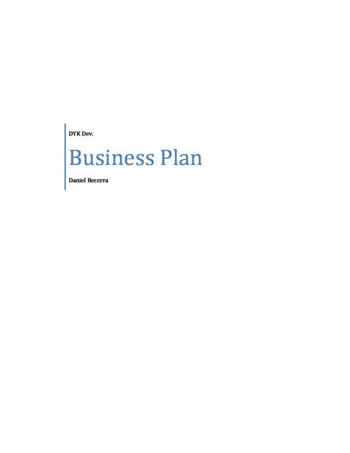 Final Business Plan_Daniel_Becerra