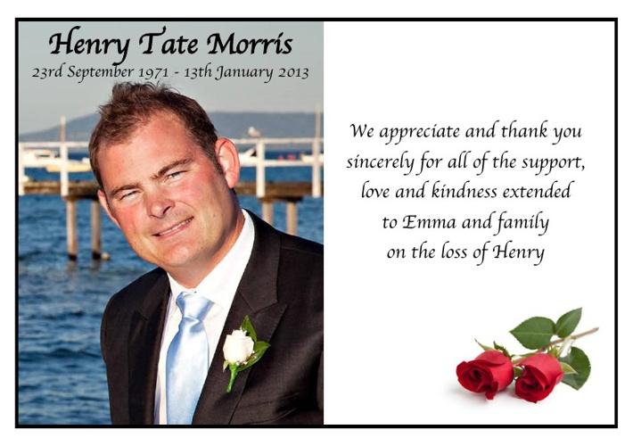 Henry Morris Sample 2