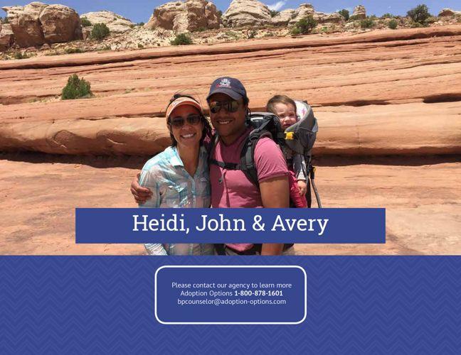 John and Heidi's Adoptive Family Profile