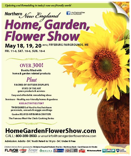 Northern New England Home, Flower & Garden Show.