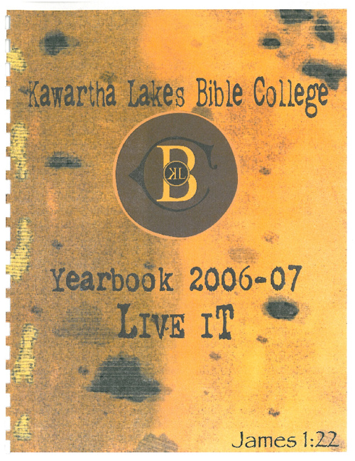 2006 - 2007 Yearbook