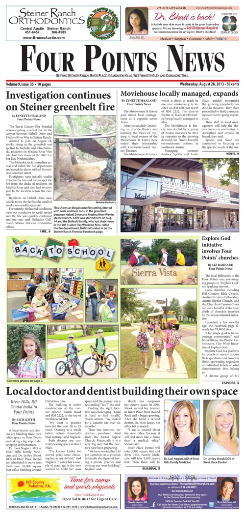 Four Points News August 28 2013