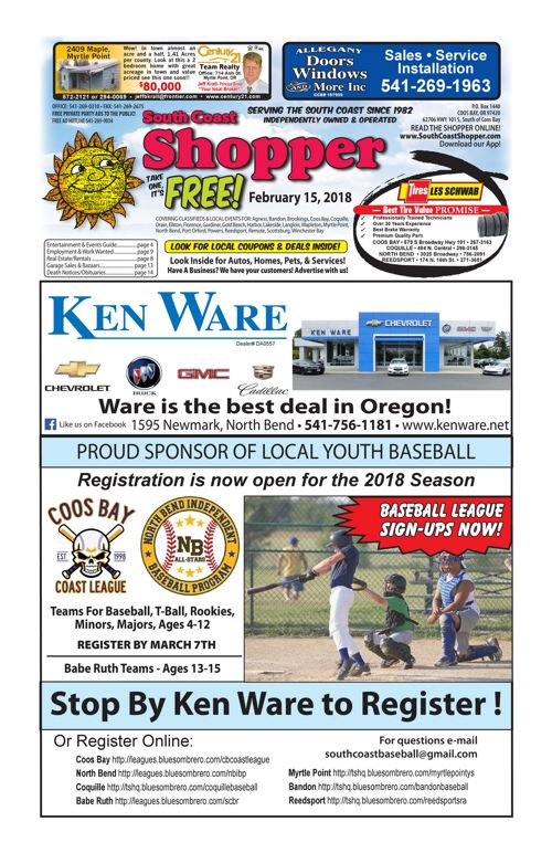 South Coast Shopper e-Edition 2-15-18