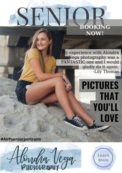 Senior Portraits Packages + Info