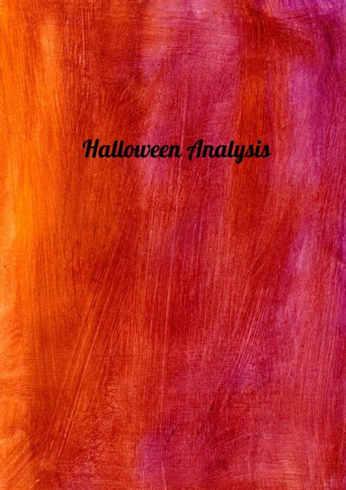 Halloween analysis