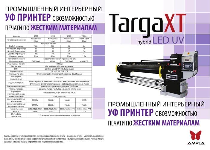 Ampla Targa XT LED UV