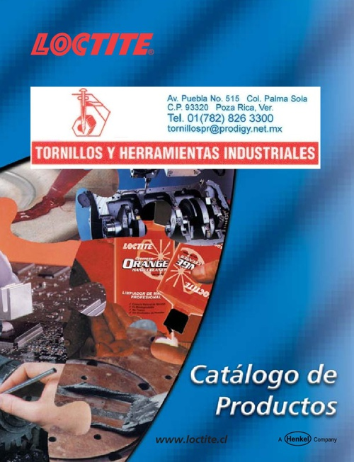 Copy of Copy of CATALOGO LOCTITE