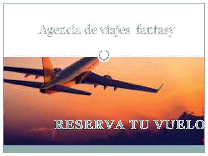 Agencia de viajes  fantasy