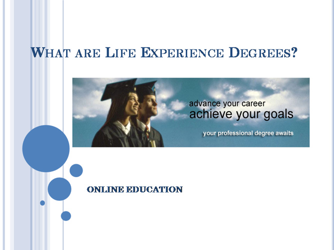 Why Need Online Degrees?