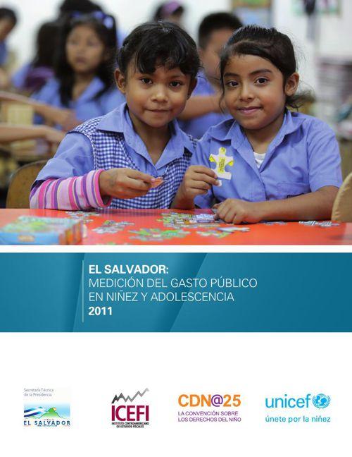 El Salvador: Medición del gasto público en niñez y adolescencia