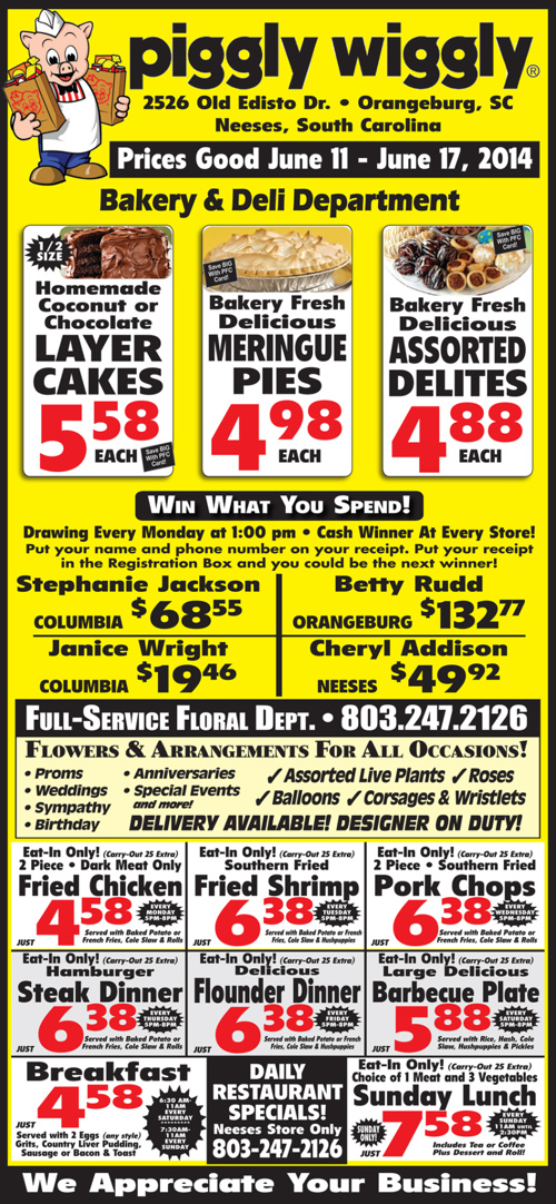 PW Weekly Ad: 06/11 - 06/15