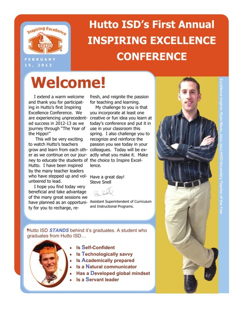 Inspiring Excellence Program