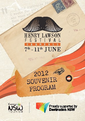 Henry Lawson Festival Program - 2012 - Grenfell, NSW