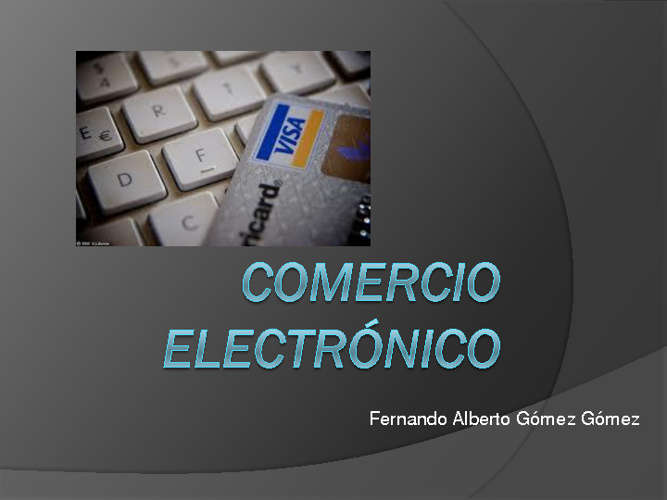 COMERCIO ELECTRONICO final