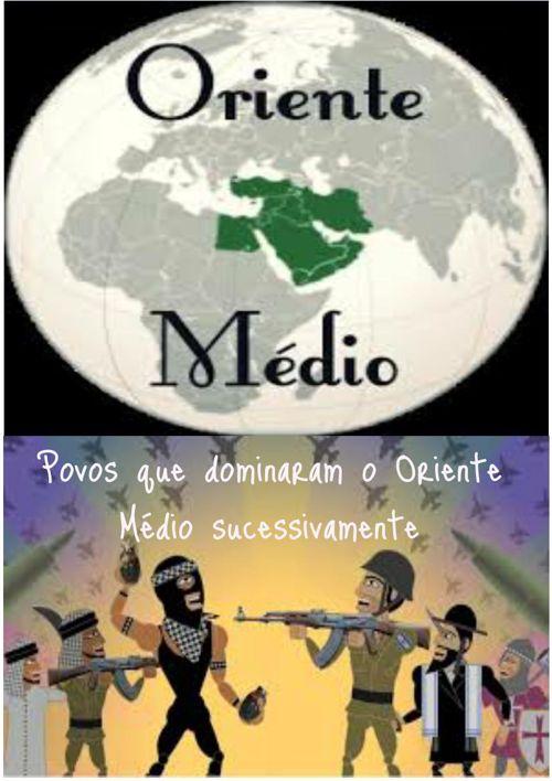 Oriente médio e seus conflitos!!!