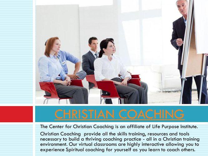 Christian Life Coach Certification