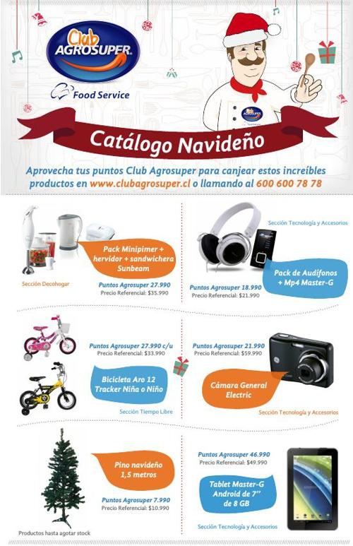 Catálogo Navideño Food Service