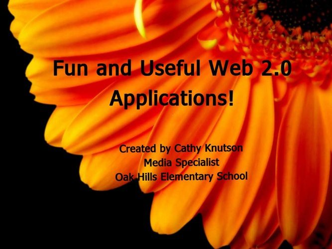 Fun with Web 2.0