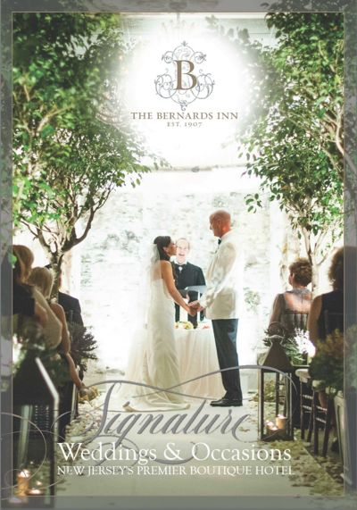 The Bernards Inn Wedding Brochure