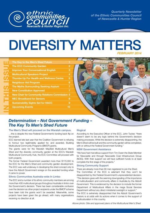 Diversity Matters - February 2014