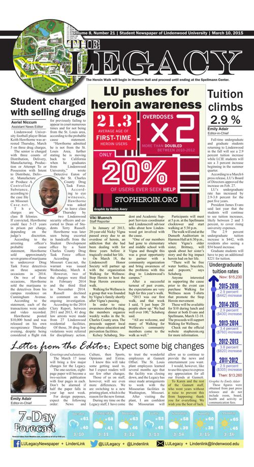 Legacy-- March 10 Issue