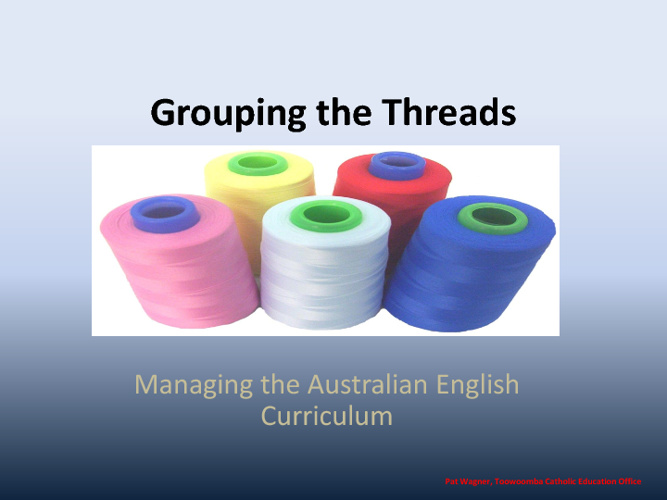 Grouping the Threads