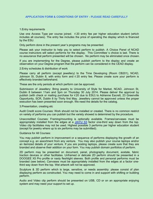CEAD_Exhibition_Entry_form_2014