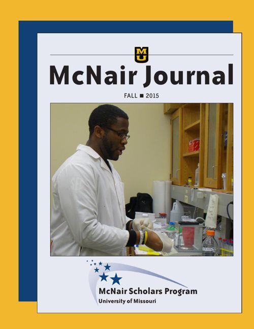 Fall 2015 MU McNair Journal