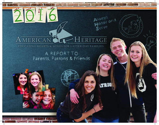 American Heritage School 2016 Annual Report