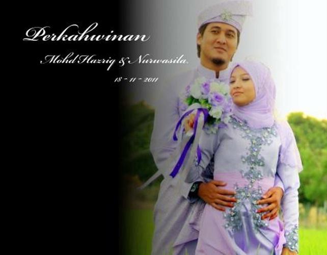 Perkahwinan Hazriq & Wasila