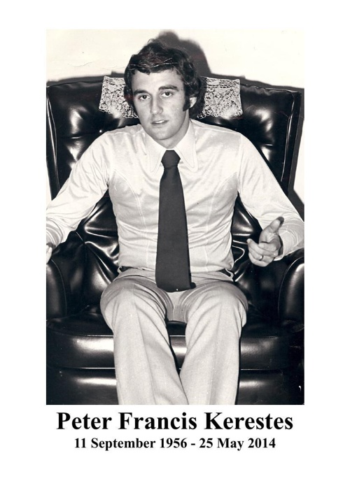 4 Order of Service for Peter Francis Kerestes