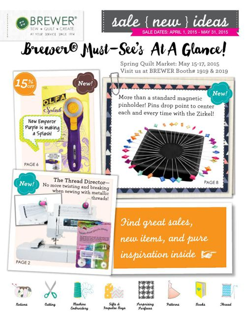 April-May 2015 Sales Flyer