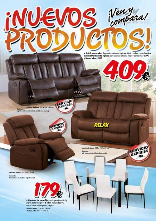 Folleto Nuevos Productos Muebleda Sep/Dic 2014