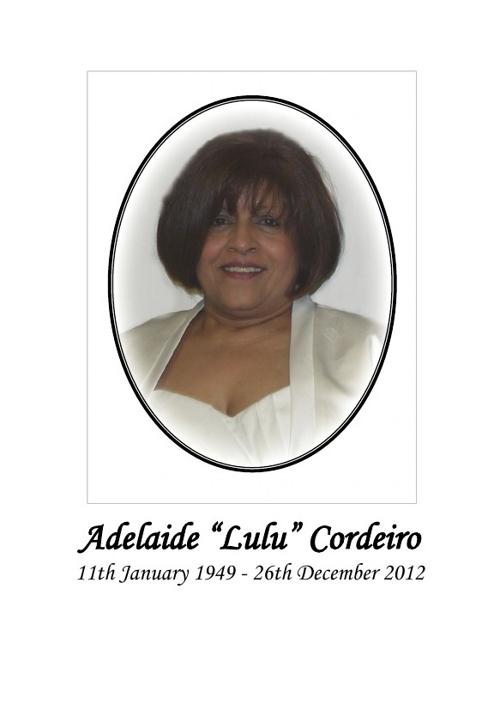 Adelaide Cordeiro - Thank You Card