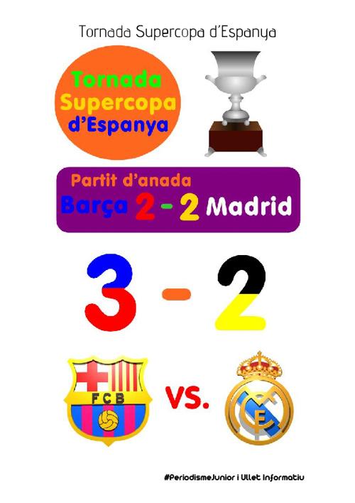Tornada Supercopa d'Espanya