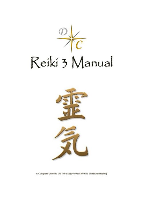 DC Reiki Manual 3