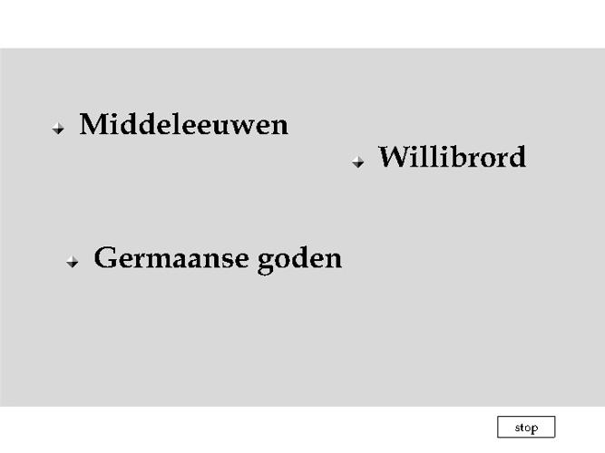 Onderwerpen uit de Middeleeuwen