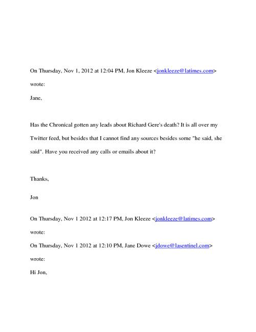 E-Mail Transcript
