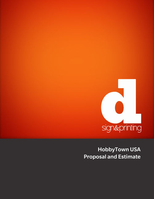 Presentation and Proposal for HobbyTown USA