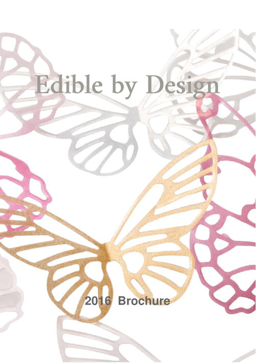 Edible By Design 2016 Catalogue
