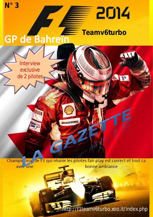 Gazette Bahrein